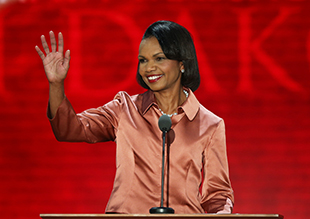 Condoleezza Rice at the Republican National Convention (Mark Wilson/Getty Images)
