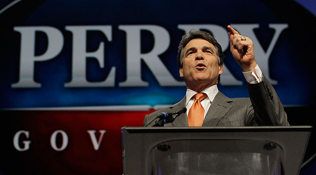 Rick Perry joins Republican governors who won't implement Obamacare