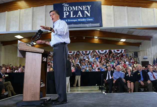 Romney in Colorado (Justin Sullivan/Getty Images)