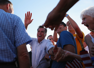 Romney in Michigan (Joe Raedle/Getty Images)