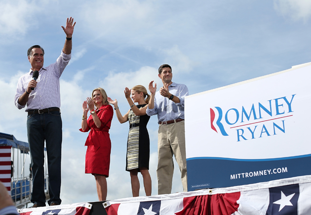 Romney in Lakeland, Fla (Justin Sullivan/Getty Images)