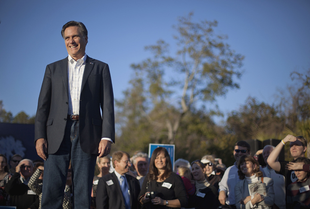 Romney in Charleston Thursday (David Goldman/AP)
