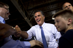 Romney in St. Louis (Evan Vucci/AP)