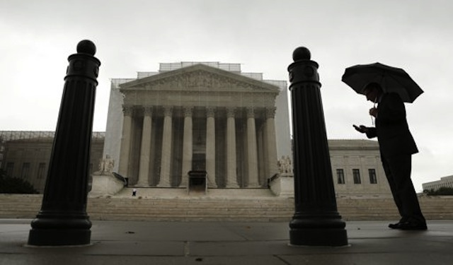 The U.S. Supreme Court, June 10, 2013. (Kevin Lamarque/Reuters)