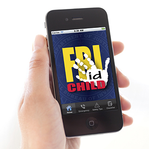 Child ID app, FBI.com