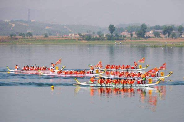 Dragon Boat race celebrating Duan Wu (Feng Li/Getty)