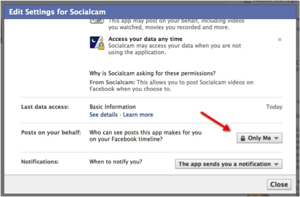Why (and How) to Turn Off Socialcam on Facebook