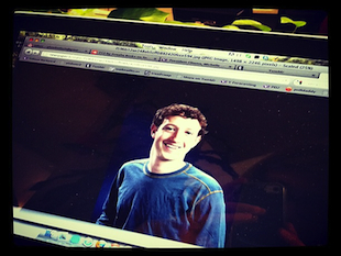 Facebook founder Mark Zuckerberg (Yahoo/Phoebe Connelly)