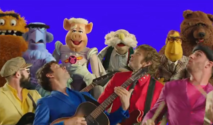 "OK Go And The Muppets' First Video For ""The Green Album"""