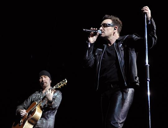 Watch 'A Decade Of Difference' Performers U2′s The Edge And Bono Live