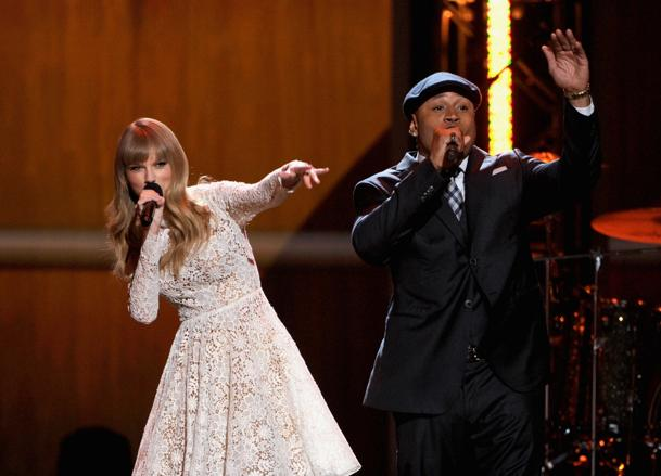 Taylor Swift and LL Cool J (Photo: Kevin Winter)
