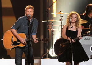 Dierks Bentley and Kimberly Perry (Photo by Kevin Winter/Getty Images)
