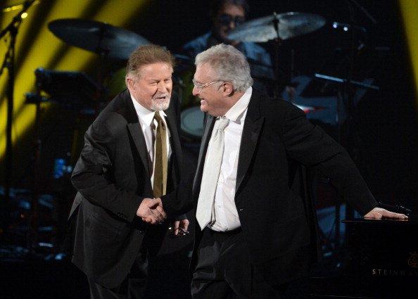 Don Henley and Randy Newman [Kevin Winter/Getty Images]