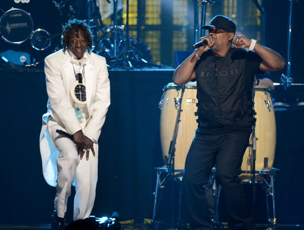 Flavor Flav and Chuck D [Kevin Winter/Getty Images]