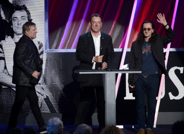 Rush accepts [Photo: Kevin Winter/Getty Images]