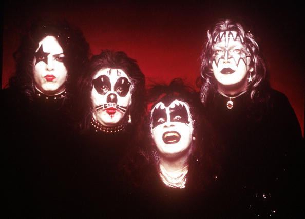KISS's first album cover portrait (courtesy of Michael Ochs Archives)
