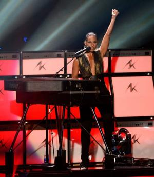 Alicia Keys [Photo by Kevin Mazur/WireImage]