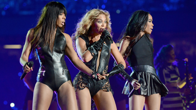Destiny's Child at half-time (Photo: Film Magic)