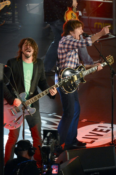 Grohl and Fogerty (Photo: Jeff Kravitz)