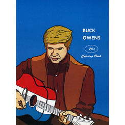 Buck Owens' coloring book