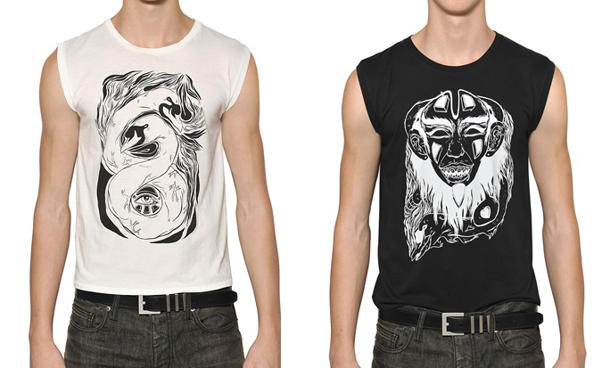 Grimes Designs $350 T-Shirts For Saint Laurent Paris