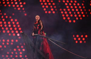 Annie Lennox, ahoy! (Getty Images)