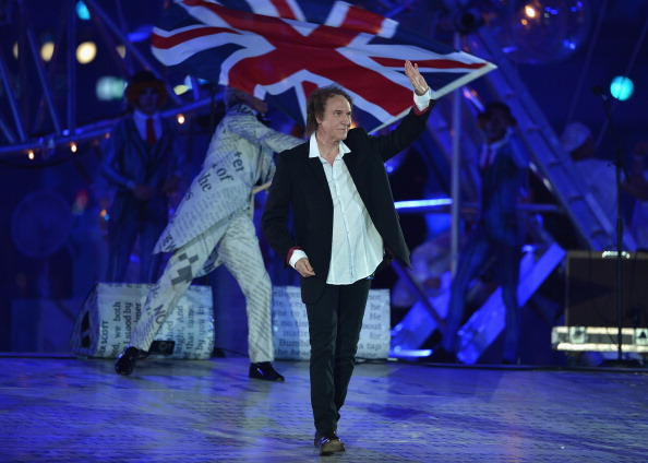 Ray Davies at the Olympics (Getty Images)