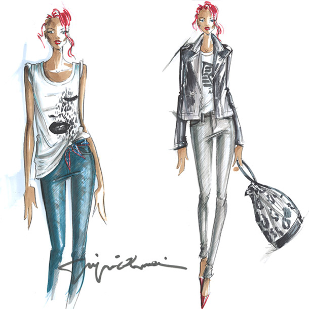 Rihanna Designs Capsule Collection For Armani