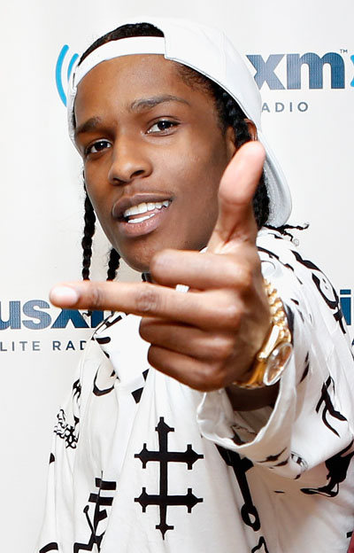 A$AP Rocky (photo: Getty Images)
