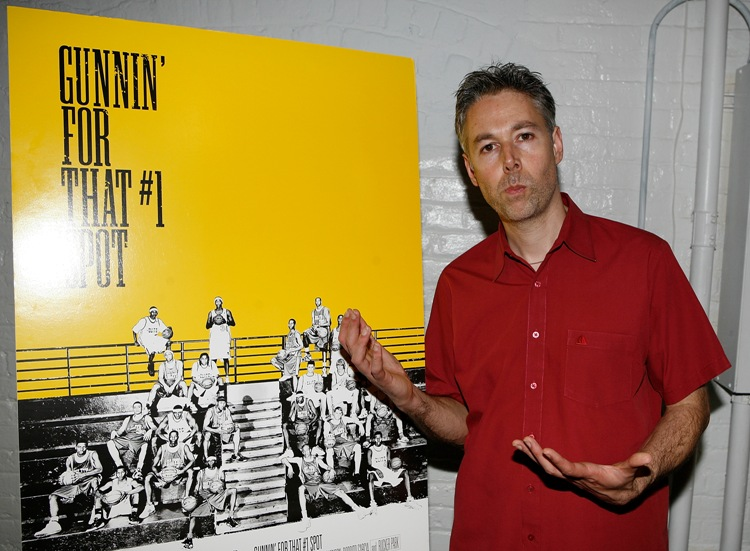 "Adam ""MCA"" Yauch at after-party for his 2008 documentary ""Gunnin' For That No. 1 Spot."""