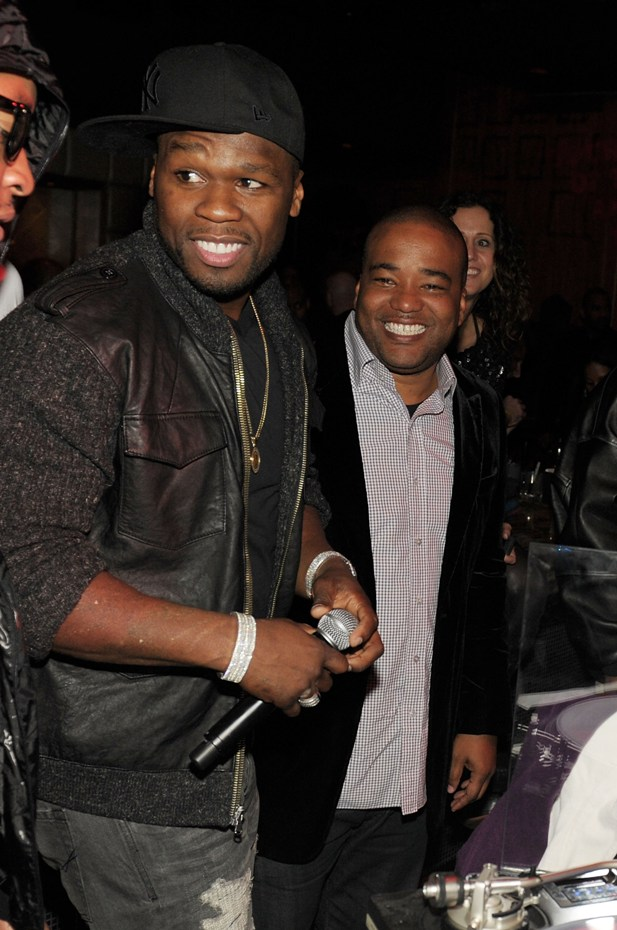 50 Cent, Chris Lighty (photo: Denise Truscello, Wire Image)