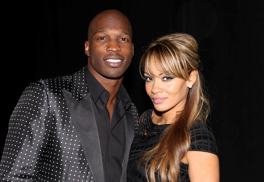 Chad Ochocinco, Evelyn Lozada (photo: Gary Miller, Getty Images)