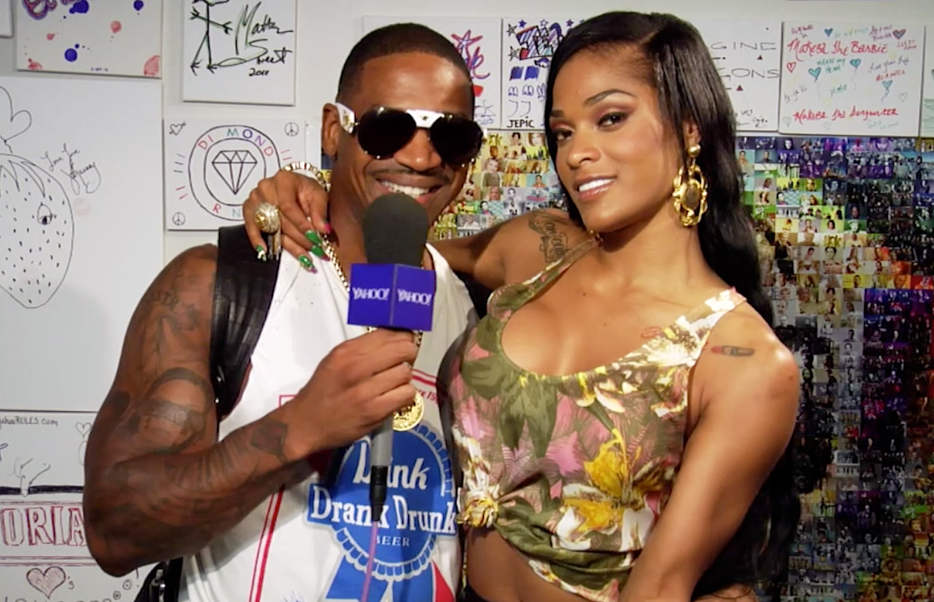 'Love & Hip Hop Atlanta' stars Stevie J and Joseline Hernandez talk wedding and more. photo: Robert Gardner