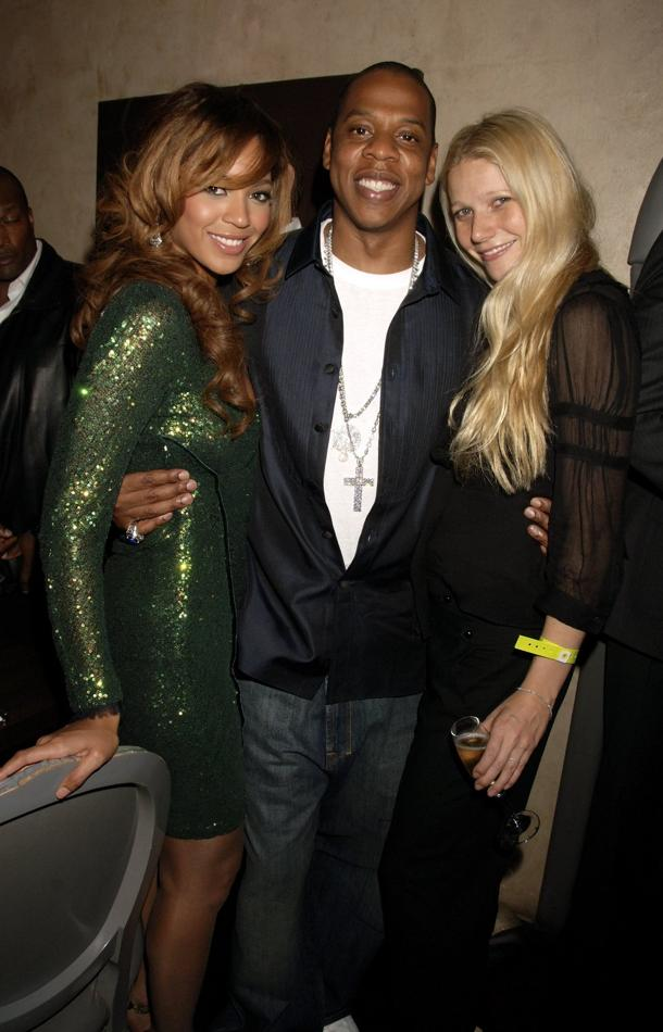 Beyonce, Jay-Z, Gwyneth (photo: Dave M. Bennett, Getty Images)