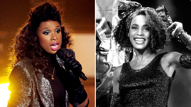 Jennifer Hudson, Whitney Houston (photo credit: Getty Images)
