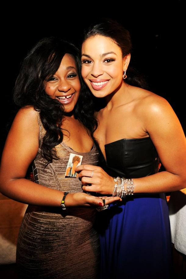 Bobbi Kristina, Jordin Sparks (photo: Kevin Mazur, Getty Images)