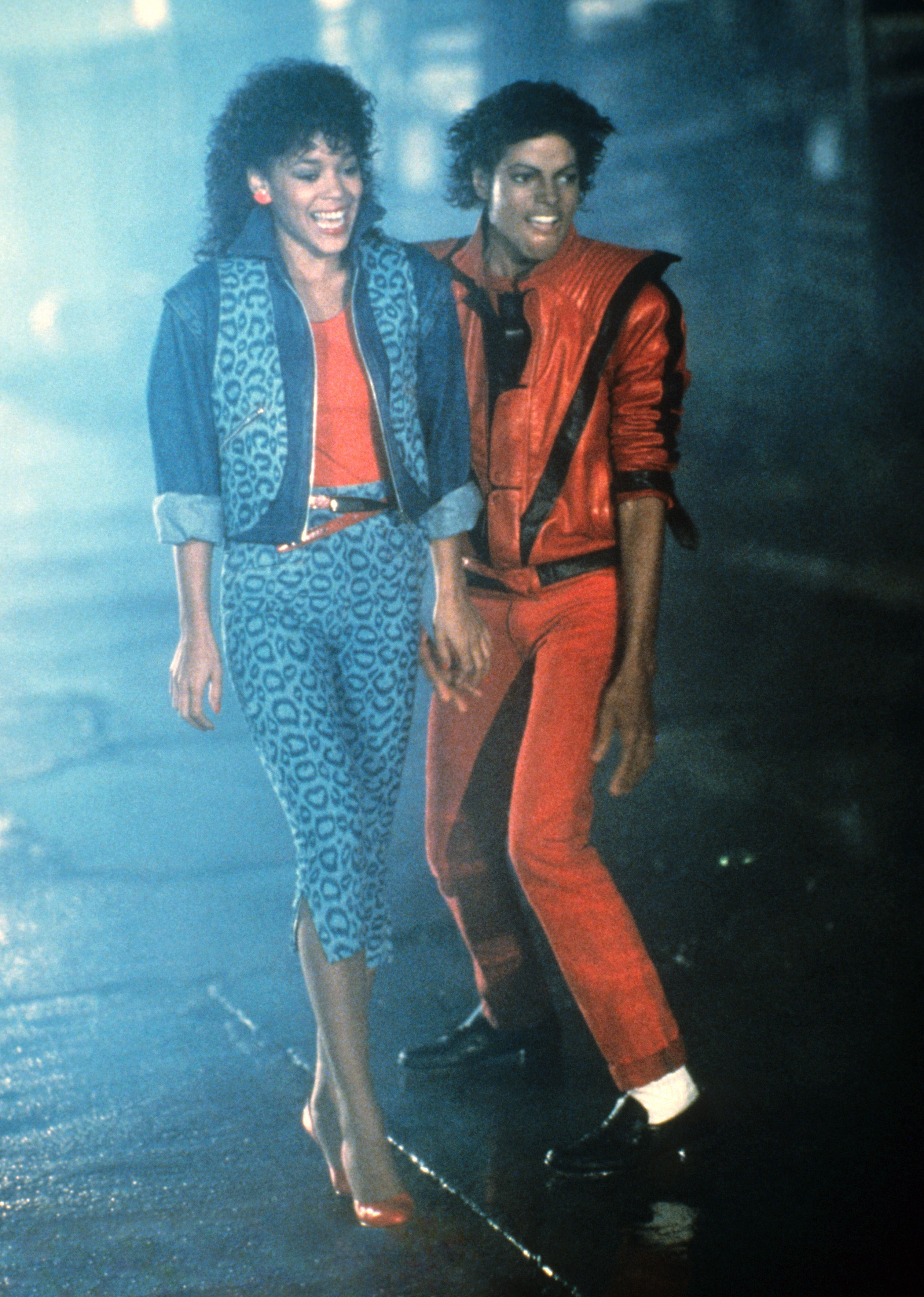 Michael Jackson, Ola Ray (photo: MCA/Universal / Courtesy: Everett Collection)