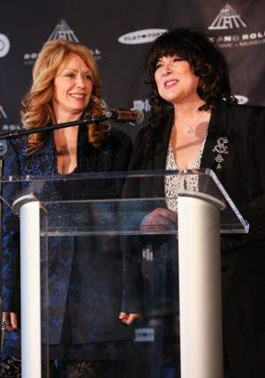 Nancy Wilson and Ann Wilson of Heart (Photo by Paul Archuleta/FilmMagic)