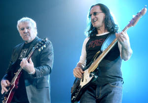 Rush [Photo:  Paul Warner/WireImage]