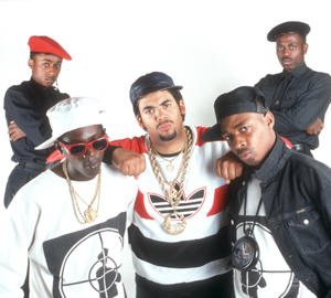 Public Enemy in 1988 [Photo by Michael Ochs Archives/Getty Images]