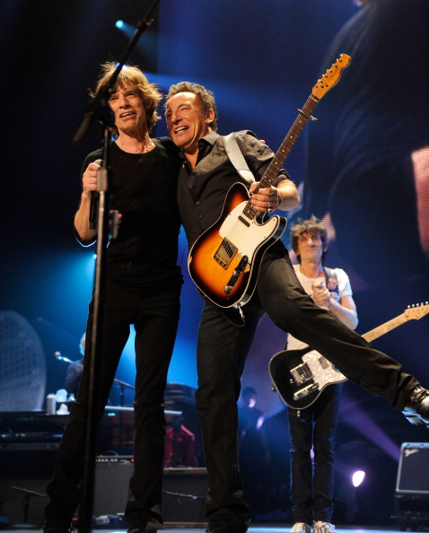 Mick and Bruce (Kevin Mazur/Wire Image)