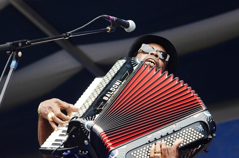 CJ Chenier [Photo: WWOZ]