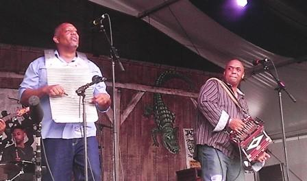 Corey Ledet & his Zydeco Band