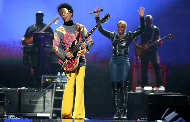 Prince, Mary J. Blige (photo: Getty Images)