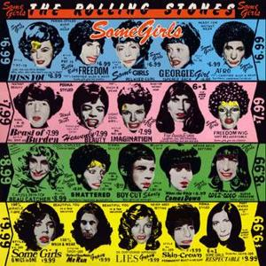The original 'Some Girls' cover art