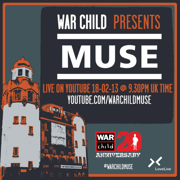 Watch Charitable Set From Muse Streamed Live From London