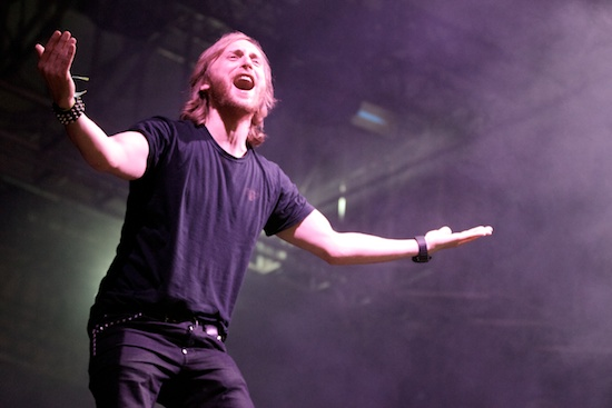 David Guetta, not djing again [Photo: Debi Del Grande]