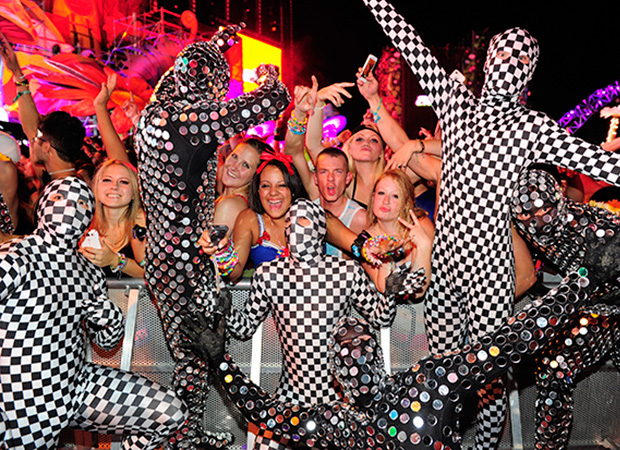 Crazy Checkered People (Ethan Miller/Getty Images)