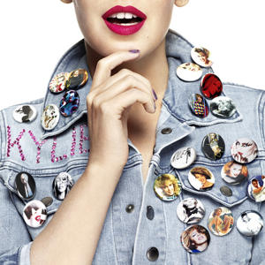 Kylie's fashionable 'K25' best-of artwork