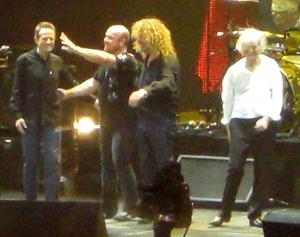 Led Zeppelin Take Flight At London's O2 Arena